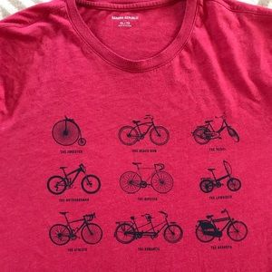 Banana republic men's bicycle shirt